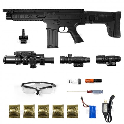 Le Hui SCAR Gel Blaster (Black)