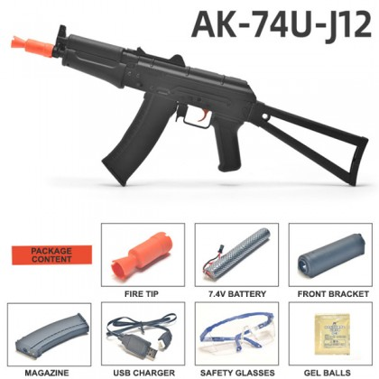Jin Ming AK74U 12th Generation Gel Blaster