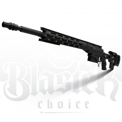 Jie Ying Swift Hawk MSR Remington (Manual) Gel Blaster (Black)